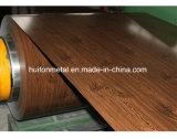 La couleur en bois de Pattern/PPGI/a enduit les bobines en acier
