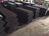 Lamiera di acciaio rivestita delle mattonelle di tetto della Pietra-Chiped di colore/tetto della pietra