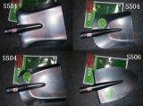 Russischer Schaufel-Spaten des Typ-Schaufel-Kopf-Stahlscharfes u. quadratisches
