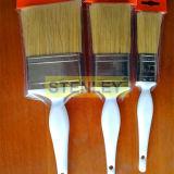 Pinceau à peinture Brosse à peinture avec poignée en plastique Boîtier en acier inoxydable