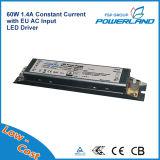 60W 1.4A conducteur courant constant LED UE pour l'éclairage