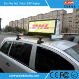 Taxi Full HD de la parte superior de color P5 LED Firmar para mover el coche