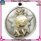 군을%s 예약한 금속 메달은 메달 선물을 수여한다
