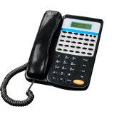 사업 인터콤 PBX D256A를 위한 새 버전 독점적인 끝 간이 교환 전화 pH202