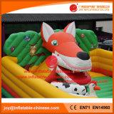 Хвастун парка атракционов замока раздувной игрушки Китая раздувной скача (T6-450)