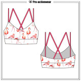 Stylish Dri Fit Sublimation Plus Size Sports Yoga Bra