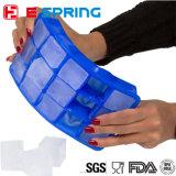 BPAはシリコーン型の正方形の立方体15キャビティ氷皿を放す