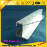 Extrusão de alumínio de extrusão de alumínio do trilho deslizante