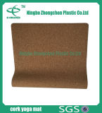 Couvre-tapis à haute densité de la meilleure qualité de mousse d'Eco de couvre-tapis de yoga de liège estampé par Eco de forme physique de qualité