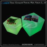 O cubo de piscamento iluminado do diodo emissor de luz assenta a tabela da barra do diodo emissor de luz da tabela do diodo emissor de luz