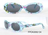 De hete Plastic Zonnebril van de Camouflage van de Manier van de Verkoop voor Jonge geitjes