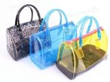 De hete Modieuze Transparante Mooie Handtassen van de Zak van het Strand van pvc