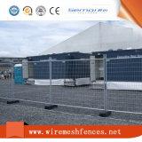 構築のための電流を通された溶接された鋼鉄塀のパネル