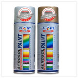 Precio metálico de la pintura de aerosol de aerosol del cromo del oro del efecto del coche