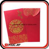 Горячее штемпелюя карманн Leisee ткани красное охваывает на китайское Новый Год