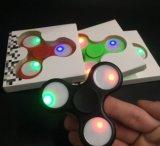 Venta caliente mano Spinner Fidget con luz LED