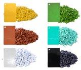LDPE LLDPE pp Masterbatch jaune de HDPE pour faire des sachets en plastique, bouteilles