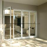 Portelli di piegatura di vetro di alluminio esterni di qualità eccellente di Feelingtop