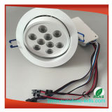 Indicatore luminoso di soffitto messo riflettore di IP65 LED LED giù Downlight chiaro