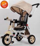 Triciclo do bebê do frame de aço de modelo 2017 novo com padrão europeu (CA-BT301)