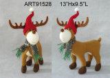 Полесье северного оленя украшения рождества стоящее