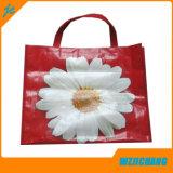 Saco de compras de tecido PP barato Tote Handle Bag