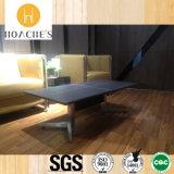 緩和されたガラス(CT-V5)が付いている木のコーヒーテーブル