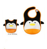 Logo personnalisé Neoprene Printed Washable Baby Bibs Waterproof