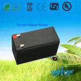Pacote de bateria LiFePO4 12.8V7.5ah de substituição de ácido-chumbo