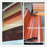 Tissu différent de polyester de couleur pour la main étendue vers le haut