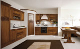 Amerikanischer Art-Küche-Möbel-festes Holz-Küche-Schrank