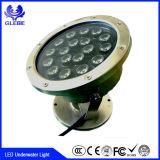 Fernsteuerungs-RGB Farbe IR-, dieAC12V 12W LED Unterwasserlicht ändert