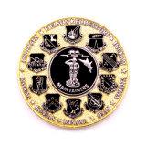 Police personnalisé de haute qualité de l'or Pièce de monnaie d'ouvreur de souvenirs Poignée de commande