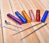 携帯用パッキングおよび低価格とセットされるステンレス鋼の食事用器具類