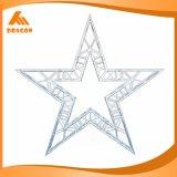 Ферменная конструкция формы звезды ферменной конструкции специального Spigot стойки выставки алюминиевая