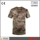 عسكريّة جيش لون قطر [منس] تمويه [ت] قميص