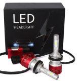 8400lm lámpara auto principal auto del coche de la linterna 60W de la luz V5 H8 H9 H11 Csp LED de la lámpara 6000k LED