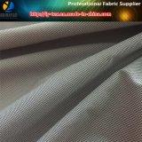 Tela teñida del telar jacquar de los hilados de polyester para la chaqueta/la ropa (YD1168) de los hombres