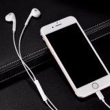 Écouteur de câble de foudre d'Earbud 8pin d'écouteur pour l'iPhone 7 positif