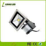 [새로운 디자인] 100W는 찬 백색 운동 측정기 옥외 LED 플러드 빛을 방수 처리한다