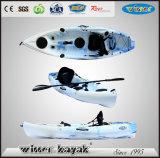 Hot Sale Нет Надувной Single Сядьте на Top Fishing Kayak