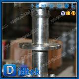 Vávula de bola criogénica del acero inoxidable 304 de Didtek con la extensión del vástago