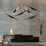 Candelabros de alumínio do diodo emissor de luz das iluminações de bambu quentes modernas da venda para o projeto