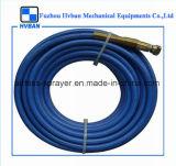 Tubo flessibile senz'aria rosso/blu della gomma dello spruzzatore della vernice
