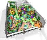 Campo de jogos interno dos miúdos temáticos da selva do divertimento do elogio para Sale