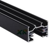 Pista de aluminio del perfil de 2 alambres para la luz de la pista del LED (XR-L210)