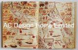 أثر قديم [ألد وورلد مب] [بو] [لثر/مدف] خشبيّة كتاب شكل جدار فنية