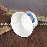 Cuvette de papier glacée remplaçable de crême glacée de papier de cuvette de papier crême de conteneur de crême/glacée