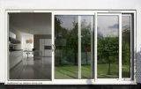 Cortile portelli esterni dell'alluminio di vetro Tempered di 85 serie