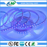 luz de tira flexible ULTRAVIOLETA de Epistar SMD3528 LED de la tira de 380nm LED